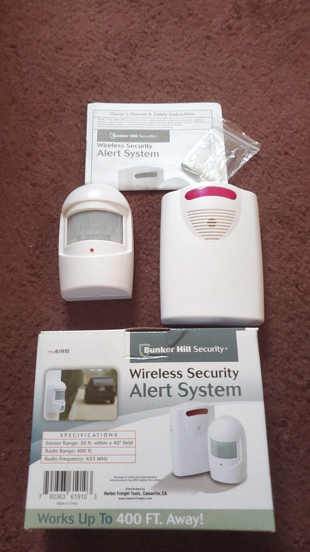 Alert System Wireless Bunker Hill Security