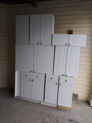 White kitchen cabinets for Sale in Wheaton, MD