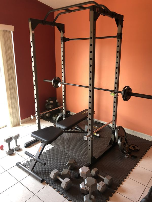 c37b368eb6 Power Rack - Fitness Reality 810XLT Super Max Power Cage for Sale in ...