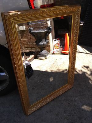 Large wooden mirror 30x42 for Sale in Alexandria, VA