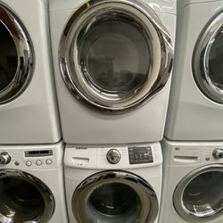Samsung Front Load Washer And Gas Dryer Set  Thumbnail