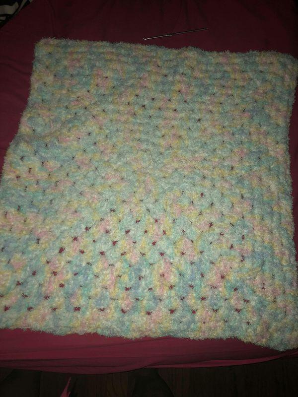 Crocheted Baby Blanket For Sale In Allen Park Mi Offerup