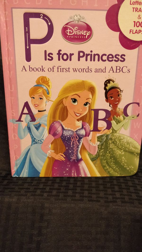 Large Hardcover Disney Princess Lift The Flap And Trace Books Like
