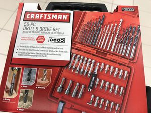 Drill bits 50 pieces for Sale in Springfield, VA