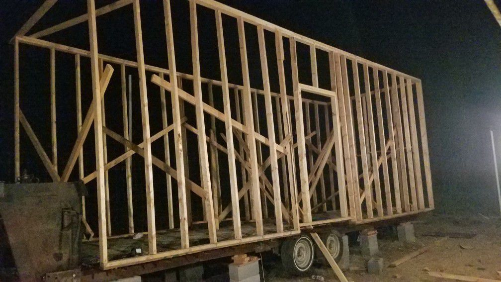 Photo Homemade 5th wheel Trailer Platform Does Not Include Frame 30 Ft Length