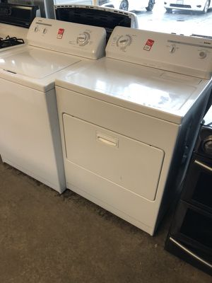 Kenmore top load electric washer and dryer set refurbished. Delivery installation warranty for Sale in Fort Belvoir, VA