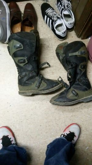 Dirt bike boots for Sale in Suitland-Silver Hill, MD