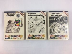 """Vintage Playgrounds Educational Software Commodore 64 Bundle C64 5.25"""" Floppys for Sale in Hamilton Township, NJ"""