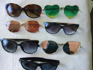 7 NEW LADIES SUNGLASSES $15 for Sale in Las Vegas, NV