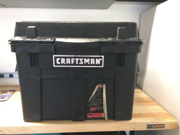 Craftsman Sit Stand Tote Rolling Tool Box For Sale In