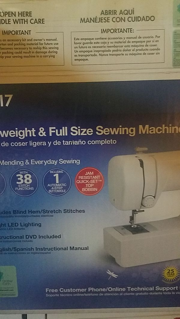 Sewing Machine Brother JX40 For Sale In El Cajon CA OfferUp Adorable How To Setup A Brother Jx2517 Sewing Machine