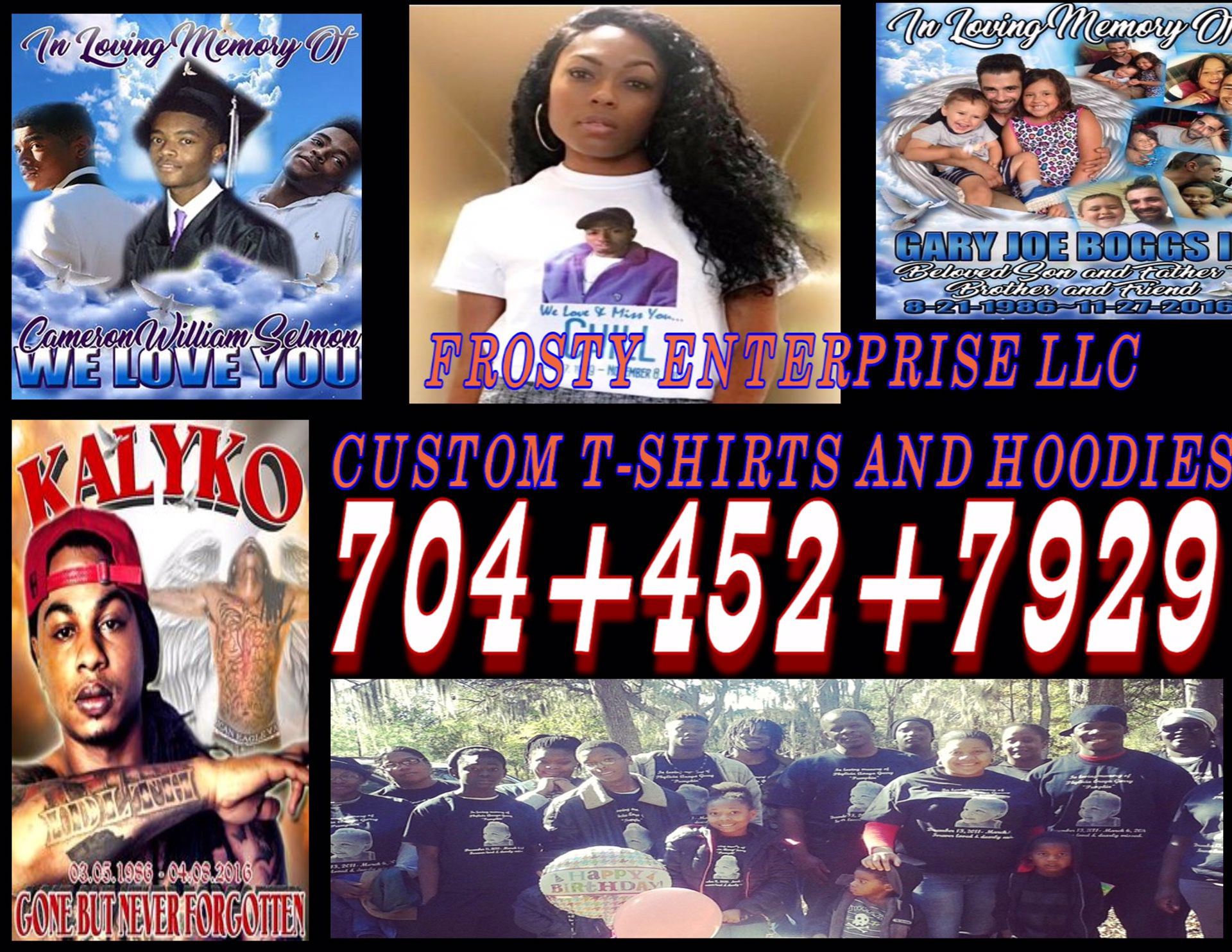 $10.00 Rip  Shirts Custom Made And Dmx Shirts For Greenville Sc Metro And Spartenburge Tap Picture For Full Contact View