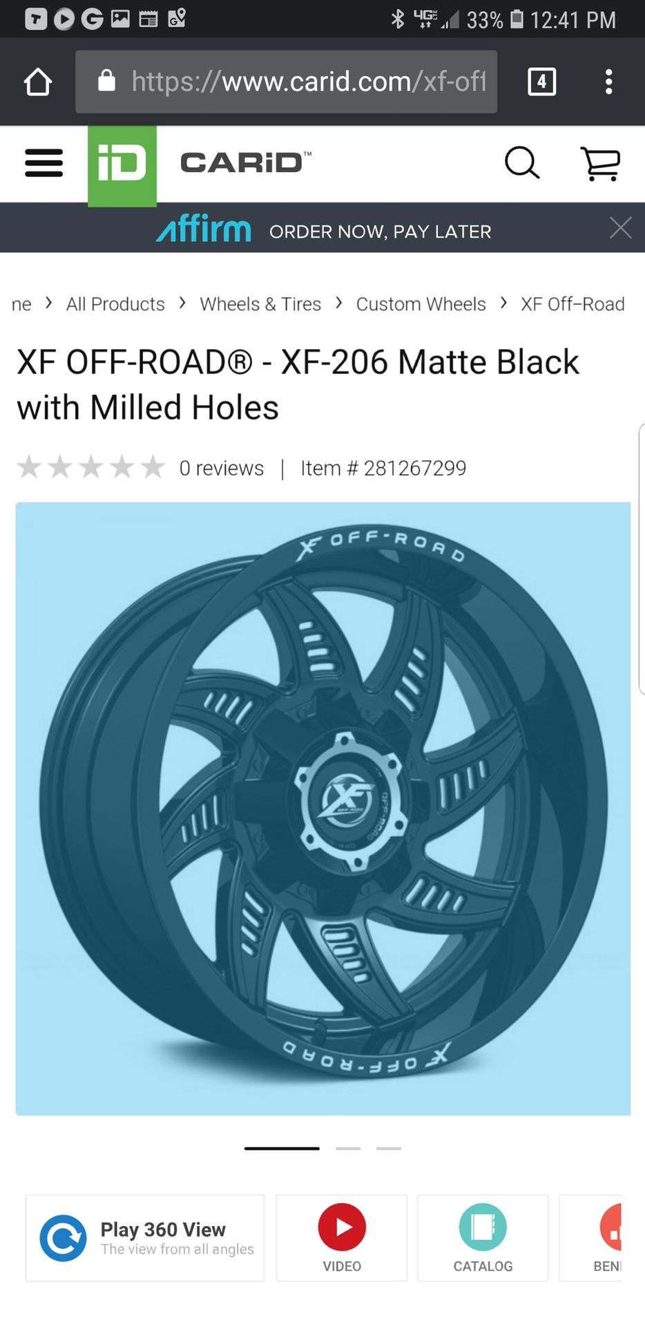 Off-road Rims for Sale