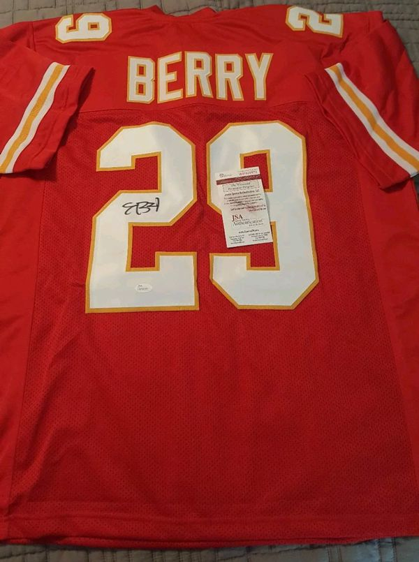 16b6ed3228f Certified authentic signed kc chiefs Jersey. Serial #d. Verified online.  Brand new (Sports & Outdoors) in Kansas City, MO - OfferUp