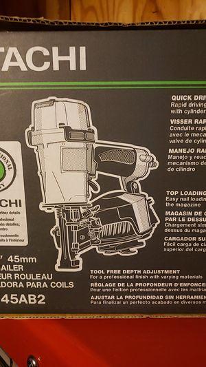 Hitachi nail gun for Sale in Modesto, CA