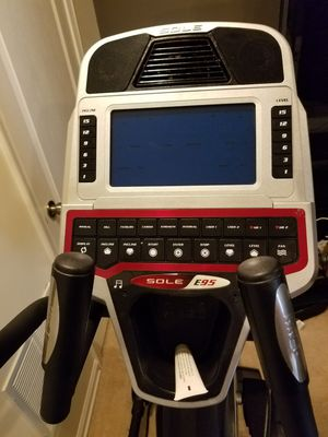 SOLE E95 Elliptical for Sale in Laurel, MD