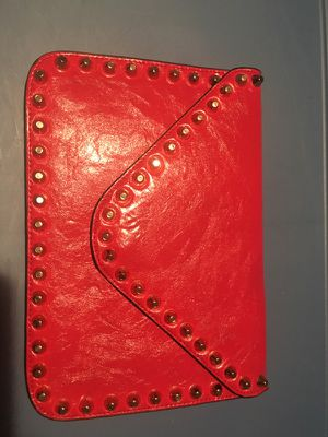 Red Clutch with Gold detail for Sale in St. Louis, MO