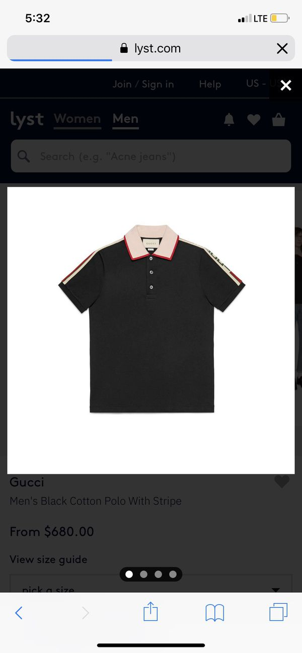 be32c81257b8 New and Used Gucci shirt for Sale in Diamond Bar, CA - OfferUp