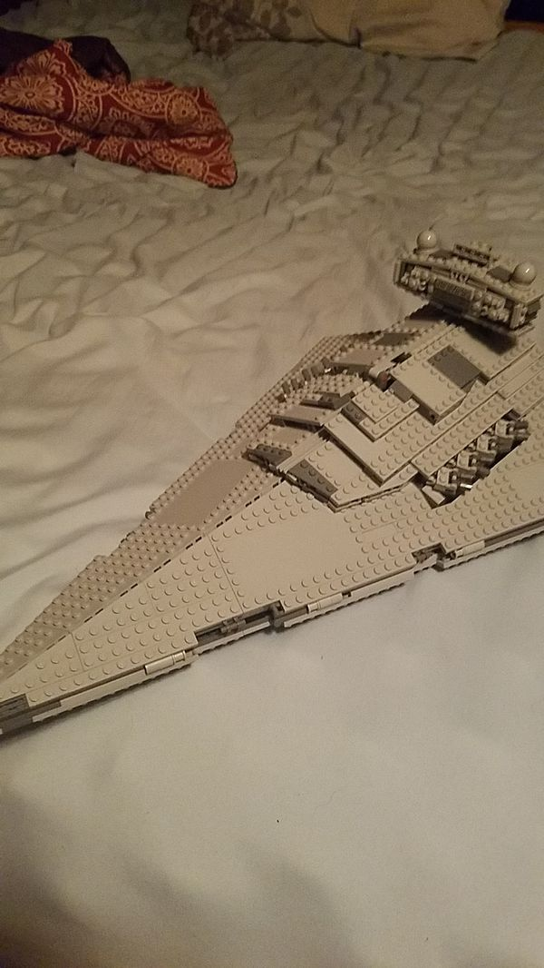 Lego Star Destroyer W Instructions For Sale In Chicago Heights Il