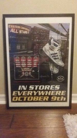 Eastern Conference All Stars 2 SIGNED & Framed Hip Hop Poster for Sale in Altamonte Springs, FL