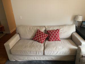 Crate & Barrel Sofa + Loveseat (sleeper sofa) for Sale in Washington, DC