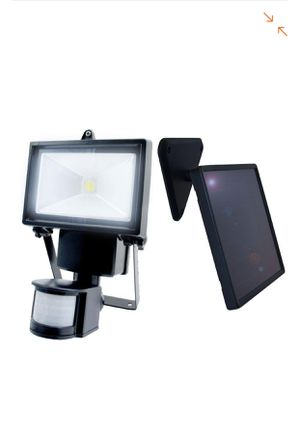 Nature Power Black Outdoor Solar Motion Sensing Security Light with Advance LED Technology for Sale in Manassas, VA