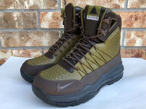 bc6ec45625230 Nike Zoom Superdome ACG Boots Green Baroque Brown Olive Flak 654886-230 sz  8.5 for