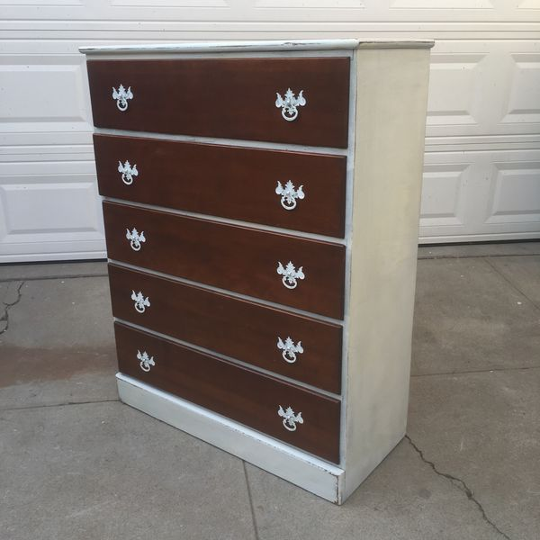 distressed furniture for sale. Awesome White And Raw Wood Distressed Dresser For Sale In San Diego, CA - OfferUp Furniture