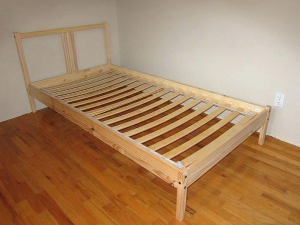 promo code cafd8 49cd2 IKEA FJELLSE Twin bed frame, pine for Sale in Gainesville, FL - OfferUp