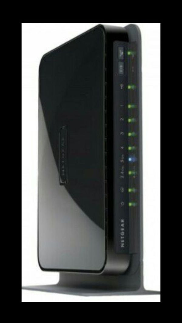 Netgear® N600 Wireless Dual Band Wi-Fi Router Model No  - WNDR3700v2 for  Sale in Kenosha, WI - OfferUp