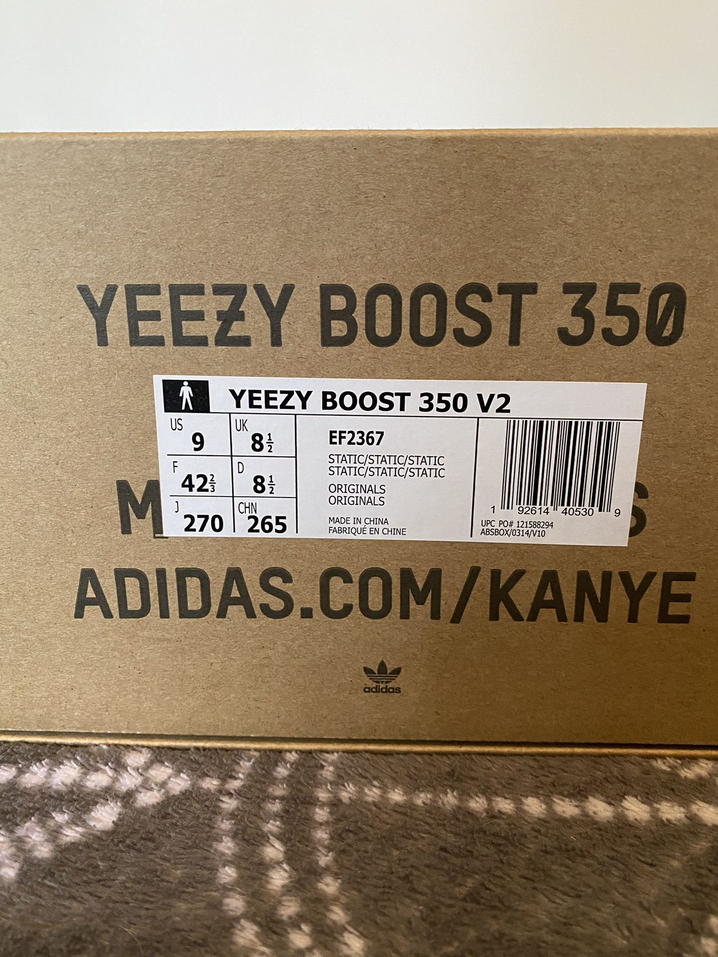 Yeezy boost 350 v2 static reflective