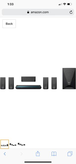 Sony surround sound home theater for Sale in Orlando, FL