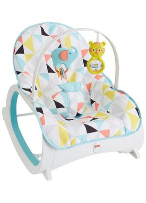Photo Fisher-Price Infant-to-Toddler Rocker, Geo Triangle
