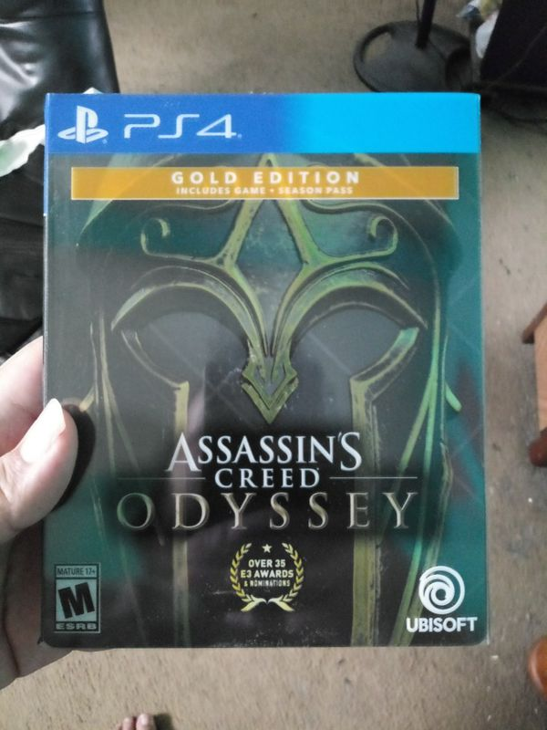 Assassins Creed Odyssey Ps4 Gold Edition Codes Has Been Used In Good Condition For Sale In San Antonio Tx Offerup