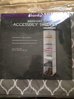 Hanging fabric shelf organizer for Sale in Fremont, CA