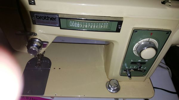 Vintage Brother Galaxy 40 Heavyduty Sewing Machine For Sale In Interesting Brother 35th Anniversary Sewing Machine