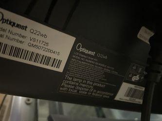 "Optiquest 22"" LCD Computer Monitor Thumbnail"
