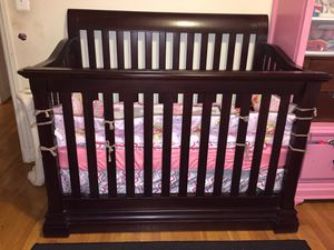 Baby crib Solid wood. $100 for Sale in Alexandria, VA