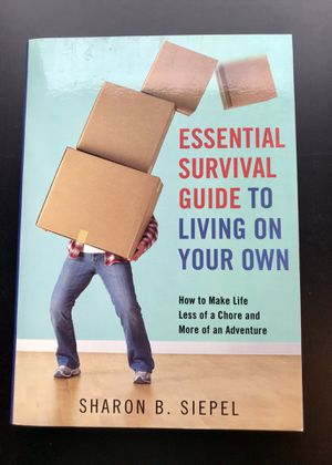 Essential Survival Guide to Living on Your Own by Sharon Siepel (Paperback) for Sale in Leesburg, VA