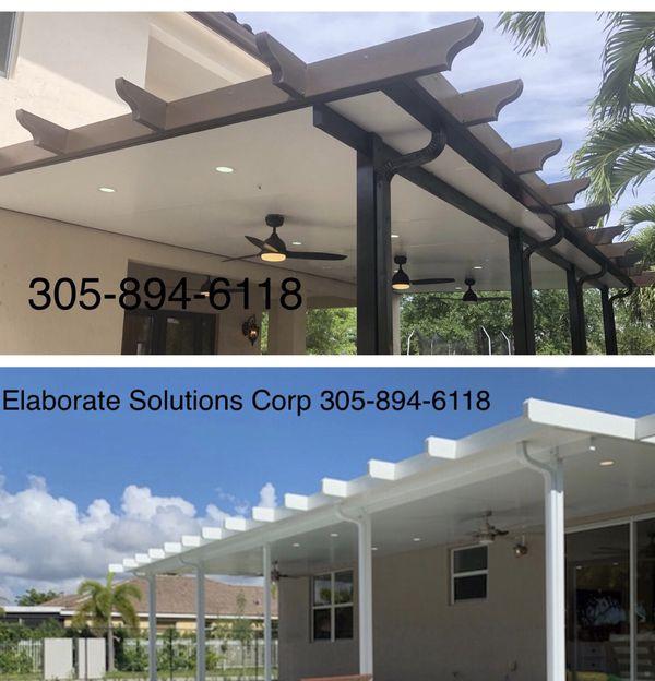 Insulated Aluminum Pergola For Sale In Miami Fl Offerup