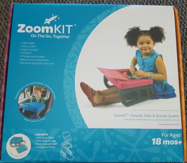 Portable Table and Activity System in Turquoise ZoomKIT