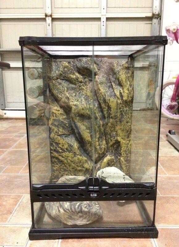 Exo Terra Mini Tall Glass Terrarium For Sale In Newberry Fl Offerup