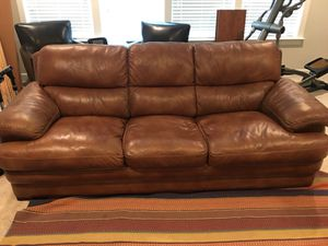 Full Leather Sofa For In Raleigh Nc