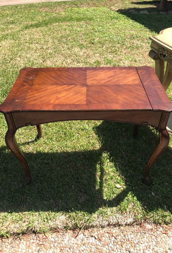 Antique Backgammon Table With Top Antiques In Houston Tx Offerup