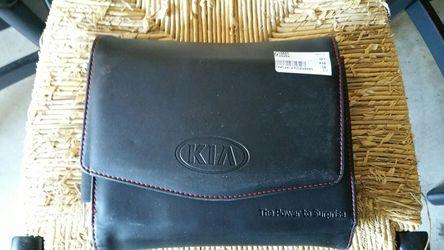 2016 Kia Optima owners manual with case. Thumbnail