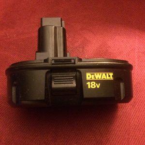 Dewalt 18V Battery pack DC9098 3.0Ah for Sale in Crofton, MD