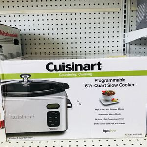 NEW Cuisinart 6.5 Qt. Programmable Slow Cooker PSC650 Roast Kitchen Appliance for Sale in Longwood, FL