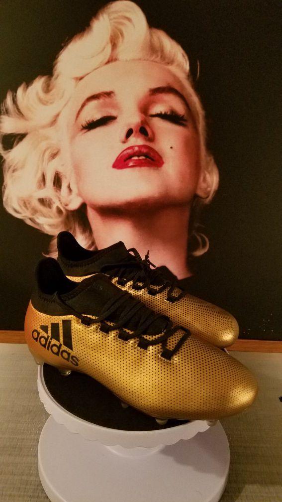 f7408916c Soccer cleats  Zapatos futbol Adidas X 17.2 FG Soccer Cleats Techfit ...