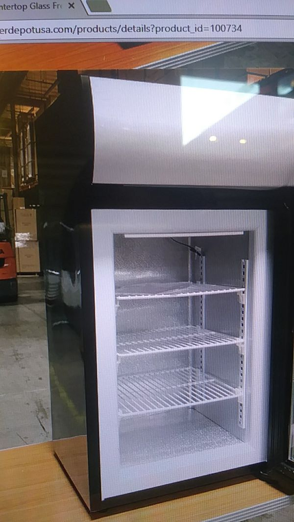 Nsf Countertop Glass Freezer One Door Ul Etl Merchandiser Ice Cream Commercial For In El Monte Ca Offerup