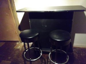 Bar and 2 stools $50 for Sale in Temple Hills, MD